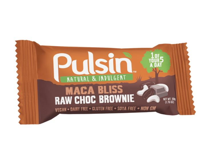 barre nerg tique pulsin 50g brownie maca bliss pulsin 39 pulsbliss1 la. Black Bedroom Furniture Sets. Home Design Ideas